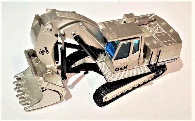 NZG 412 o&k RH 30E kettenbagger Avant Pelle Excavatrice-Die-Cast 1 50 excellent