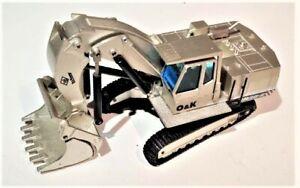 NZG-412-O-amp-K-RH-30E-Kettenbagger-Front-Shovel-Excavator-Die-cast-1-50-Excellent