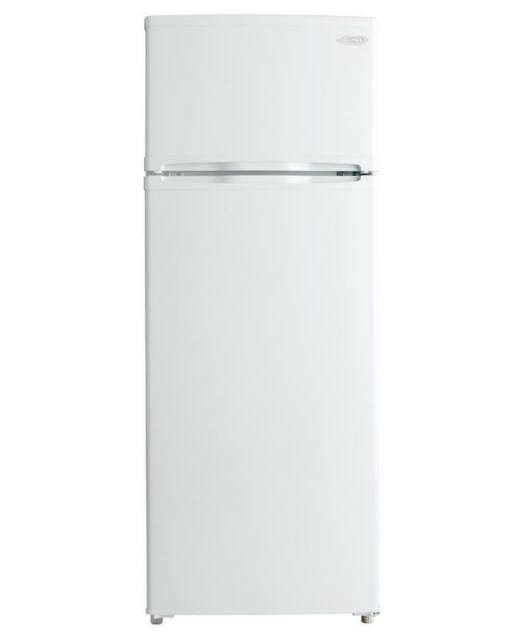 Danby DPF073C1WDB 7.3CF Apartment Size Top Freezer Refrigerator White