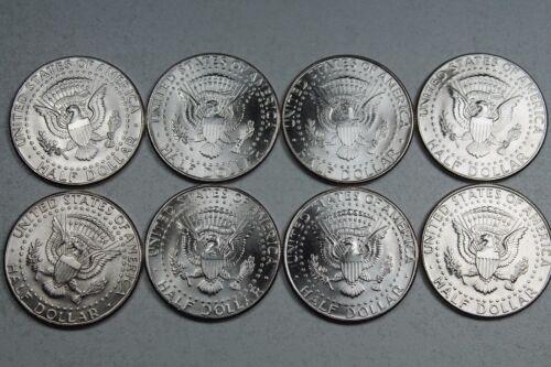 2004 2005 2006  2007 P D  Kennedy Half Dollar Uncirculated Set from Mint Rolls