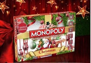 Monopoly-Christmas-Board-Game-Toy-Fun-Play-Brand-New-Gift