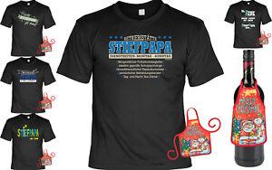 Stiefvater Weihnachtsgeschenk Set Spruche Shirt Stiefpapa Geschenk