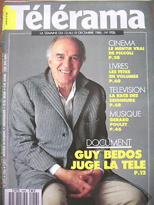 1926-MICHEL-PICCOLI-GUY-BEDOS-CARY-GRANT-JEAN-ROUCH-GERARD-POULET-TELERAMA-1986