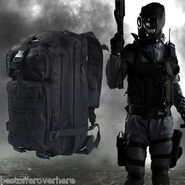 3P Military Tactical Oxford Backpack