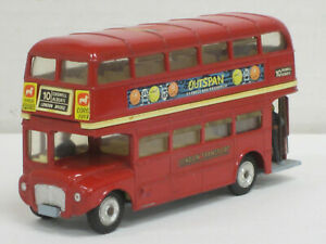 London-Transport-Routemaster-Doppeldecker-in-rot-Corgi-Toys-1-43-ohne-OVP