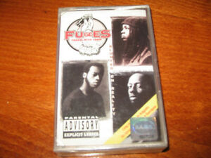 FUGEES -Tranzlator Crew- BLUNTED ON REALITY -MADE IN BULGARIA CASSETTE Tape NEW