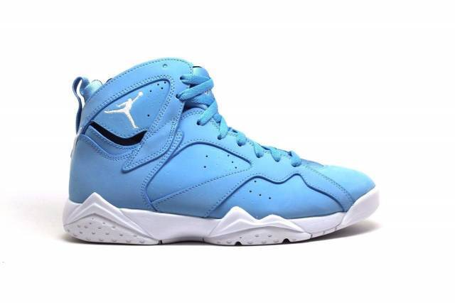 NEW 304775 400 MENS AIR JORDAN 7 RETRO SHOE !! UNIVERSITY BLUE/WHITE-WHITE