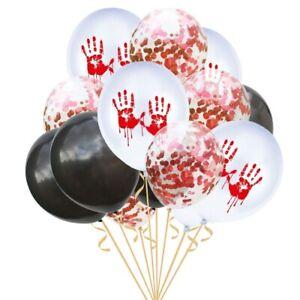 Halloween-Home-Decor-Party-Supplies-Balloon-Latex-Confetti-Balloons-15pcs-set