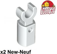 Lego 5 New White Bar Holders with Clips
