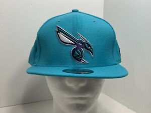 New-Era-NBA-9FIFTY-Teal-SnapBack-Flat-Bill-Charlotte-Hornets-NEW