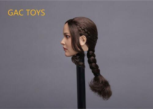 1//6 Female Head Sculpt For The Hunger Game For PHICEN Hot Toys Figure A