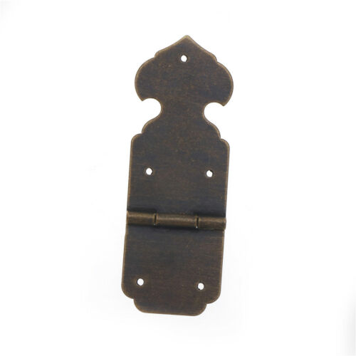 Antique Brass Pure Copper Material hinge for Cupboard Kitchen Door wooden boxHGU