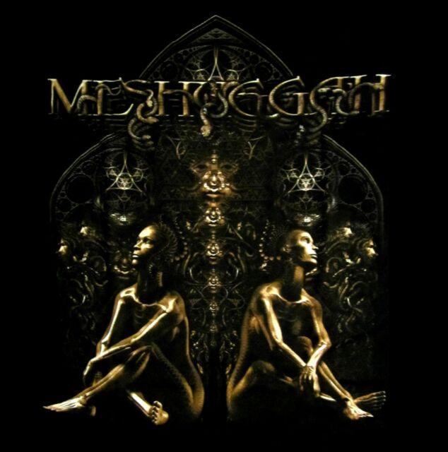 MESHUGGAH cd lgo KOLOSS TWINS Official SHIRT XXL 2X new