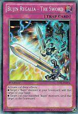 3x Bujin Regalia - The Sword - JOTL-EN074 - Common - 1st Edition YuGiOh NM JOTL