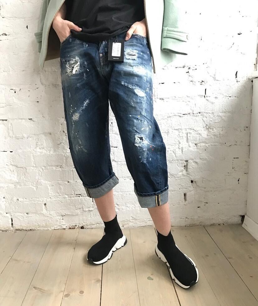 Brand New Dsquared2 Jeans Small Size 40it Size