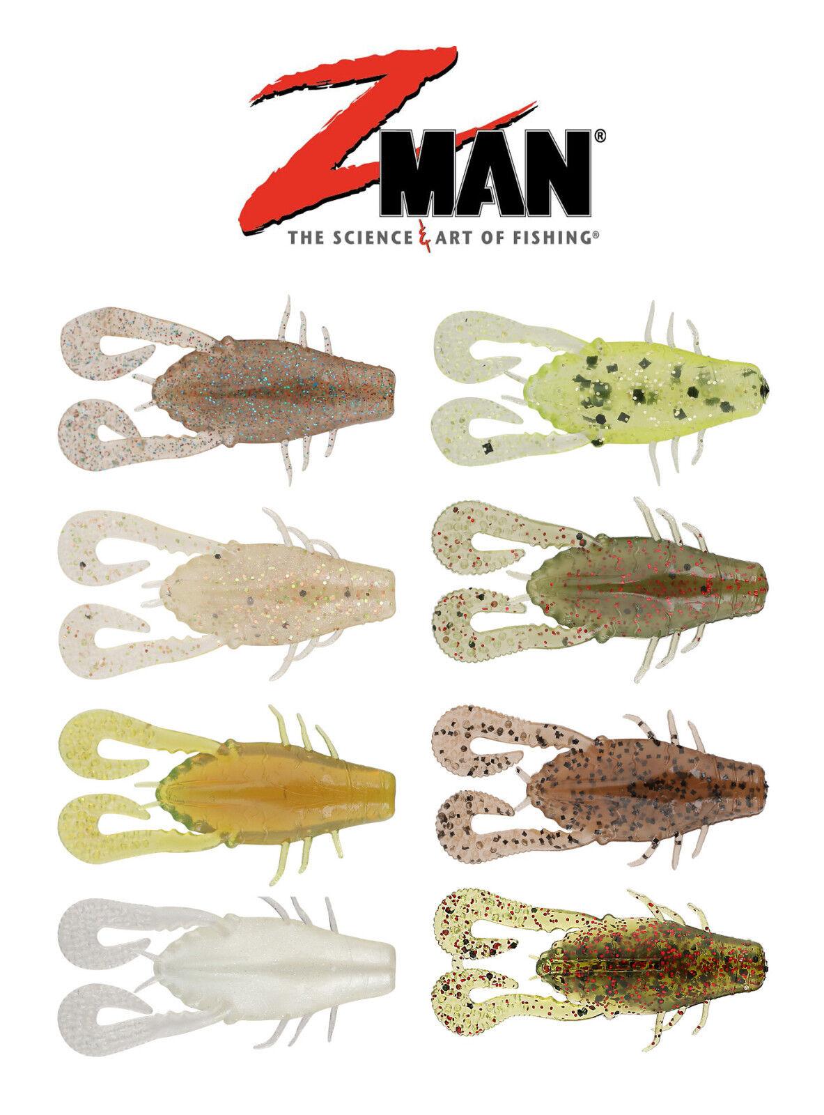 """6pk Z Man Worms Soft Plastic Bass Lures  ZMan Baits Z Man Mag Fattyz 7.25/"""""""