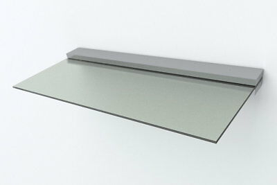 Haustür Glas Edelstahl Vordach Vsg Ca.18mm 1,6 X 0,9m Baustoffe & Holz