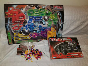 Parker-Brothers-2007-Transformers-Risk-Board-Game-For-parts-Used