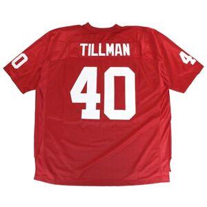 Pat Tillman NFL Arizona Cardinals Red Stitched Throwback Jersey ...
