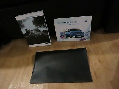 ford focus electric owners manual book set