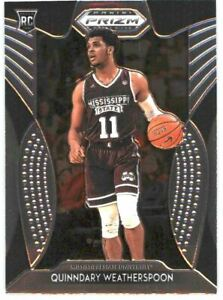 2019-Prizm-Draft-Picks-Basketball-50-Quinndary-Weatherspoon-RC-Mississippi-ST