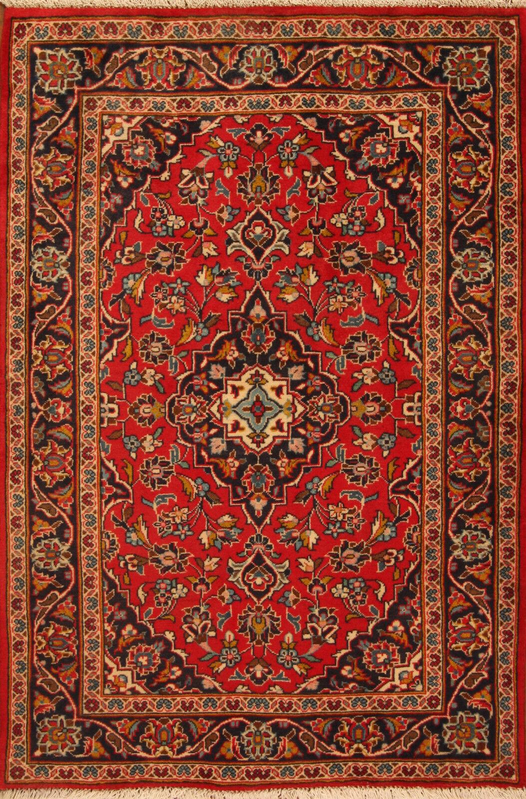 TAPPETO Orientale Vero Annodato Tapis persan n. n. n. 4189 (152 x 104) cm Ponte 97273b