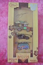 Disney Pins Disney Store D23 EXPO Disney Pixar Cars Artist Series LE 700 Pin Set
