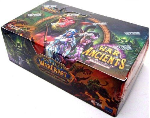 Krieg der Ahnen War of the Ancients Display OVP Booster Box Loot? WoW TCG