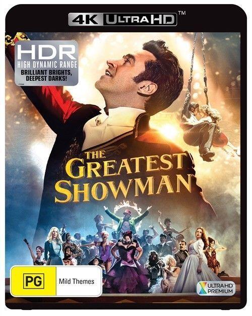 The Greatest Showman 4K Ultra HD ,2018)