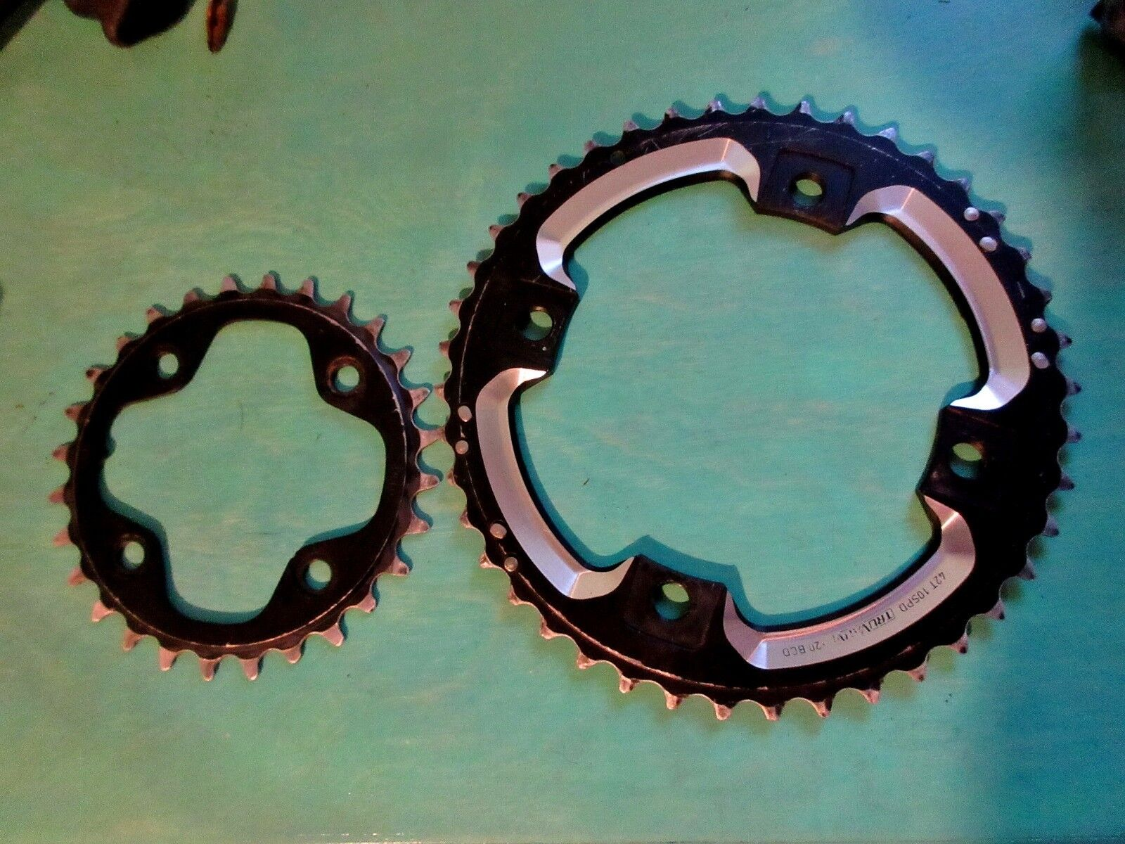 Sram XO 10 speed  chainrings 42 28 Double Chainrings  best reputation