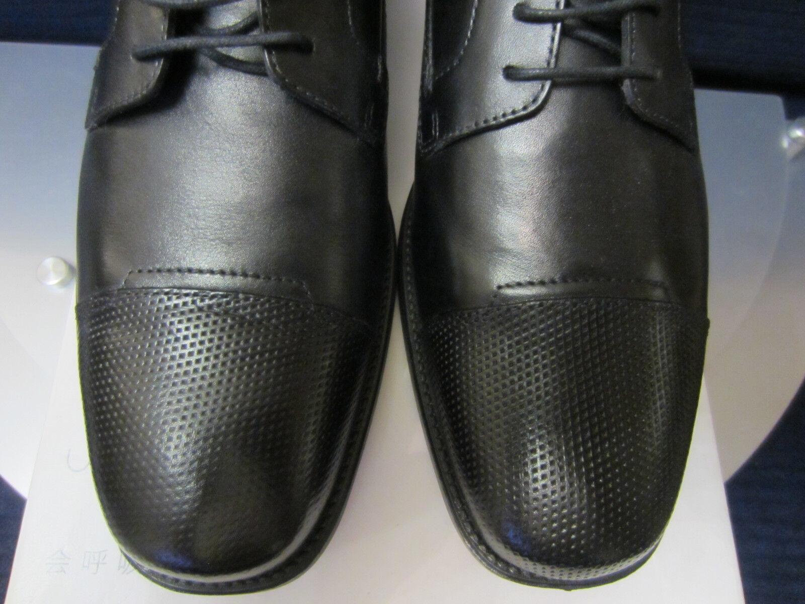 GEOX Federico U6457D Business Schuhe Schwarz Gr.42,5. Neu und und und OVP 6d1a6b