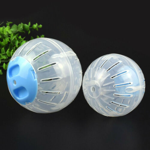 10//12 Funny Hamster Guinea Pig Exercise Running Ball Play Gyro Toy Plastic Pets