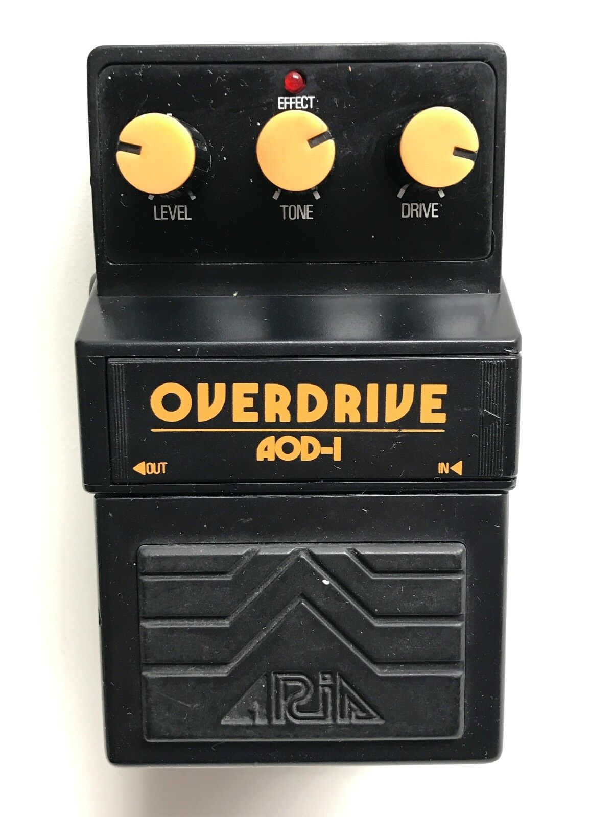 Aria AOD-1, Overdrive, Made In Japan, 1979-1983, Vintage Effect Pedal
