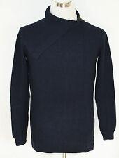 ESPRIT Strick Pullover großer Kragen dunkelblau Gr. XS *UVP 59,99€