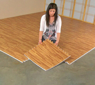 Eva Foam Floor Wood Effect Interlocking