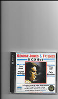 George Jones, 2 Cd Set george Jones & Friends Sealed