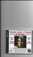 George Jones, 2 Cd Set george Jones & Friends Sealed