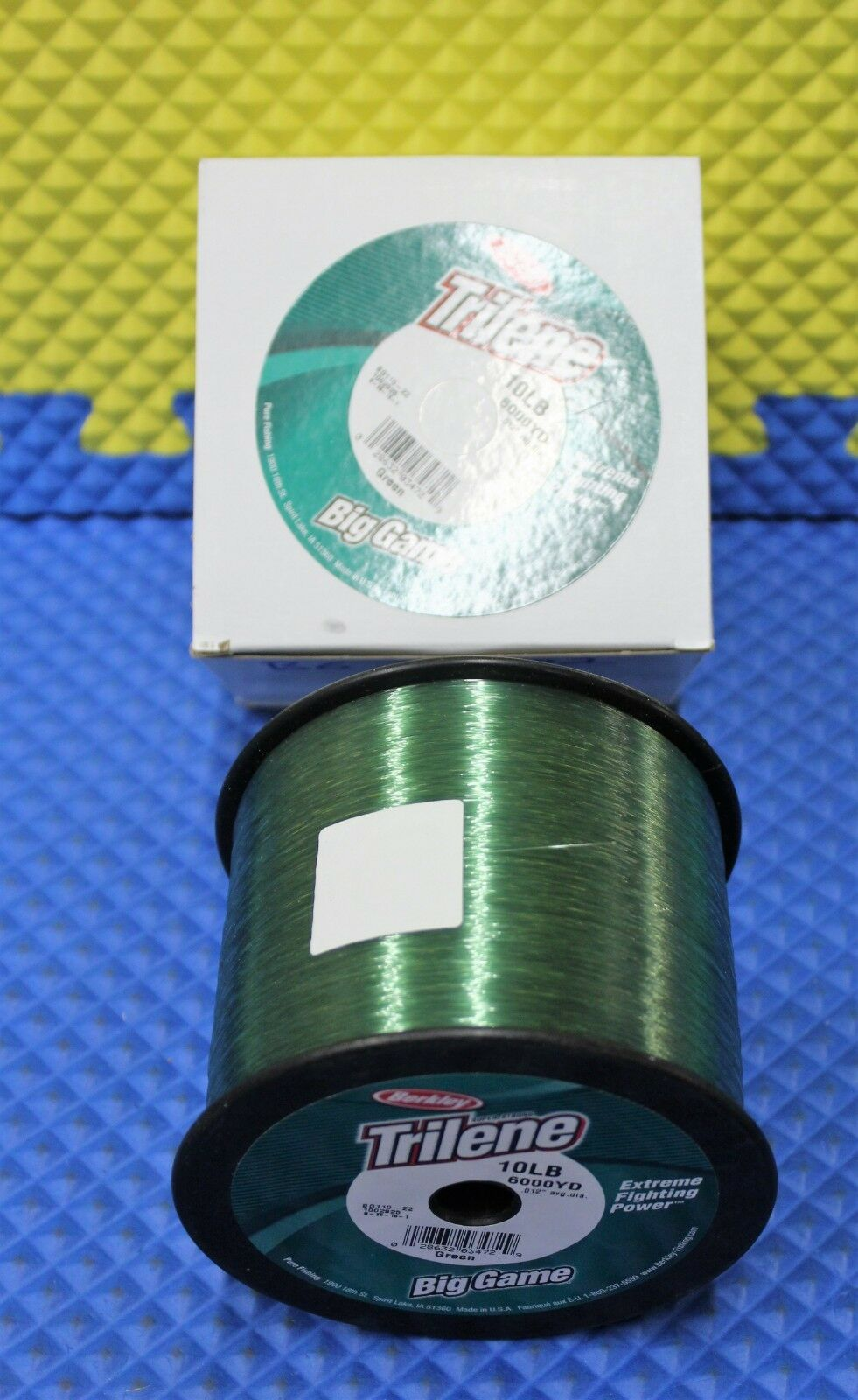 Berkley Trilene Big Game 10 LB Test 6000 YD BG110-22 Green 1002928