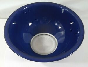 """""""PYREX"""" 325 2.5L FOR MICROWAVE OR MIXING BLUE BOWL #31 MADE IN USA"""