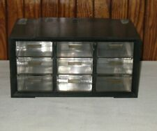 Vintage 9 Drawer Akro Mils Small Parts Drawer Cabinet Pm 9 Plastic Mid Century