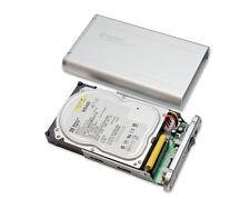 """SYBA USB 2.0, 3.5 Aluminum SATA/IDE Silver Enclosure CL-ENC35008 ,10"""" x 7.5""""x 3"""""""