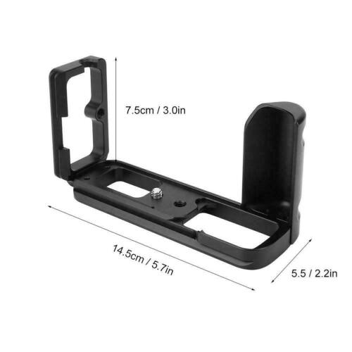 L-Shaped Vertical Quick Release Plate Bracket Hand Grip Fit for Olympus E-M10 II