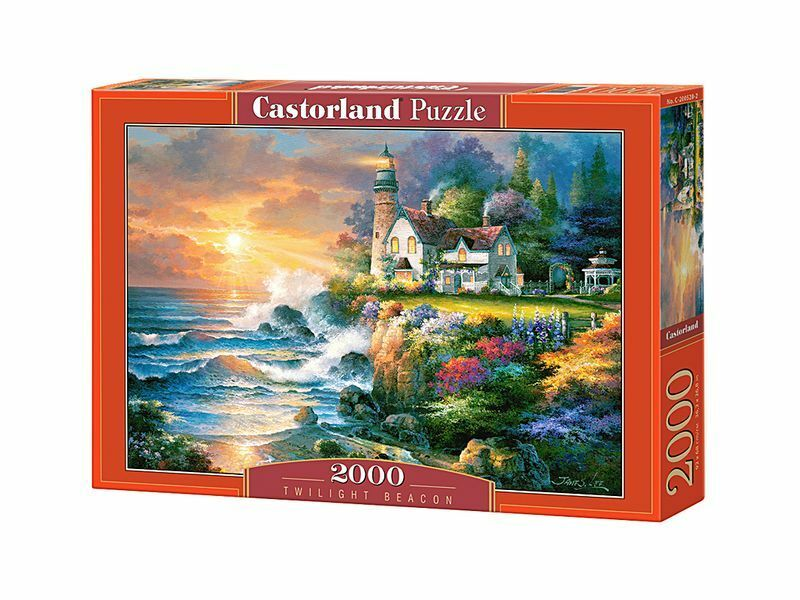 Castorland Puzzle 2000 Pieces - Twilight Beacon - 36  x 27  Sealed box C-200528