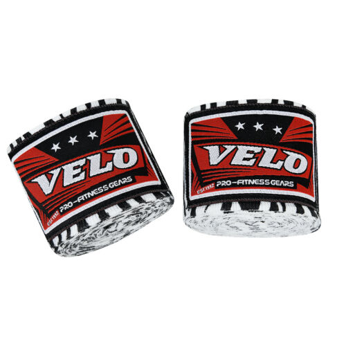 VELO Hand Wraps Bandages Boxing Fist Inner Gloves Muay Thai MMA Mexican Stretch