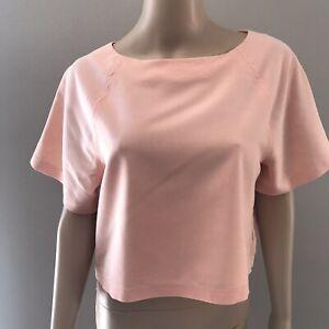 Peach Blouse sz M  Short Sleeve Lt Orange Blouse Size M womens Express Blouse sz M blouse Peach Tops Trending Spring clothing Spring Apparel
