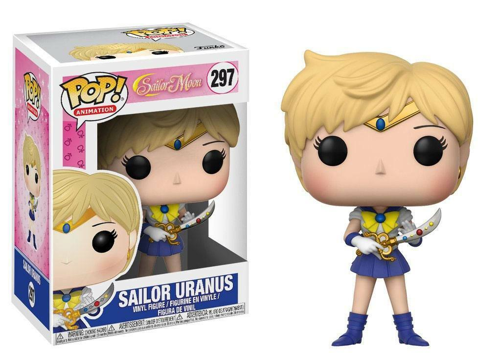 Sailor Moon POP  Animation Vinyl figurine sailor Uranus 3 1 2in Funko figure 297