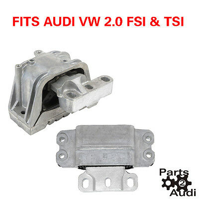 Engine Motor Mount Set LT /& RT For Audi VW TSI /& FSI ENGINES 2pc Kit