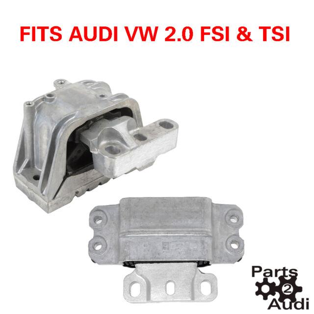 Engine Motor Mount Set Fits AUDI VW 2.0t TSI FSI 2pc Kit for sale online |  eBay