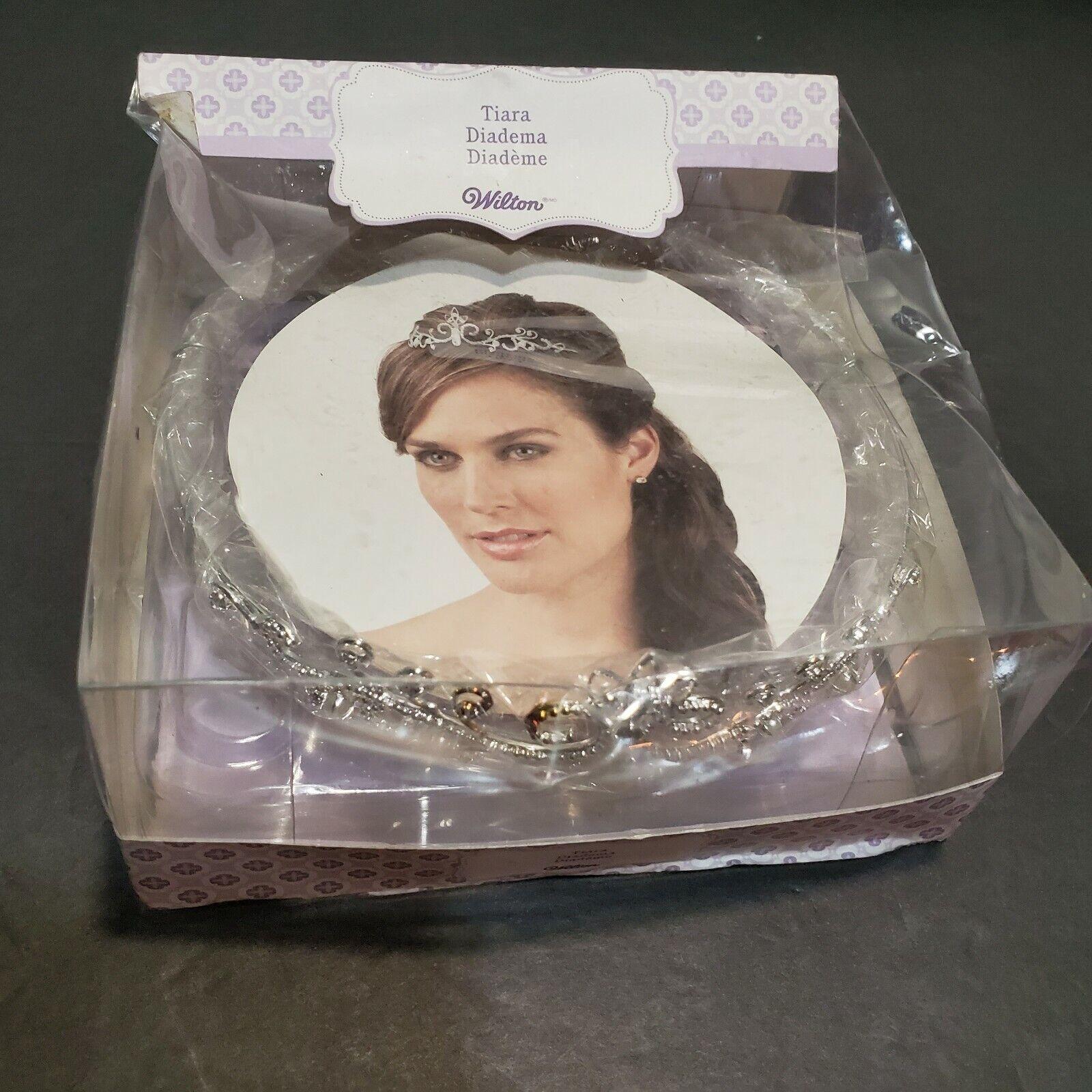 NEW Wilton Silver Plated Tiara