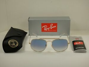 9f6ed094764 RAY-BAN GENERAL SUNGLASSES RB3561 001 3F GOLD FRAME BLUE GRADIENT ...